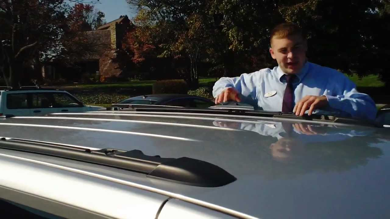 HOW TO USE THE ROOF RACK ON A VOLKSWAGEN ROUTAN - YouTube