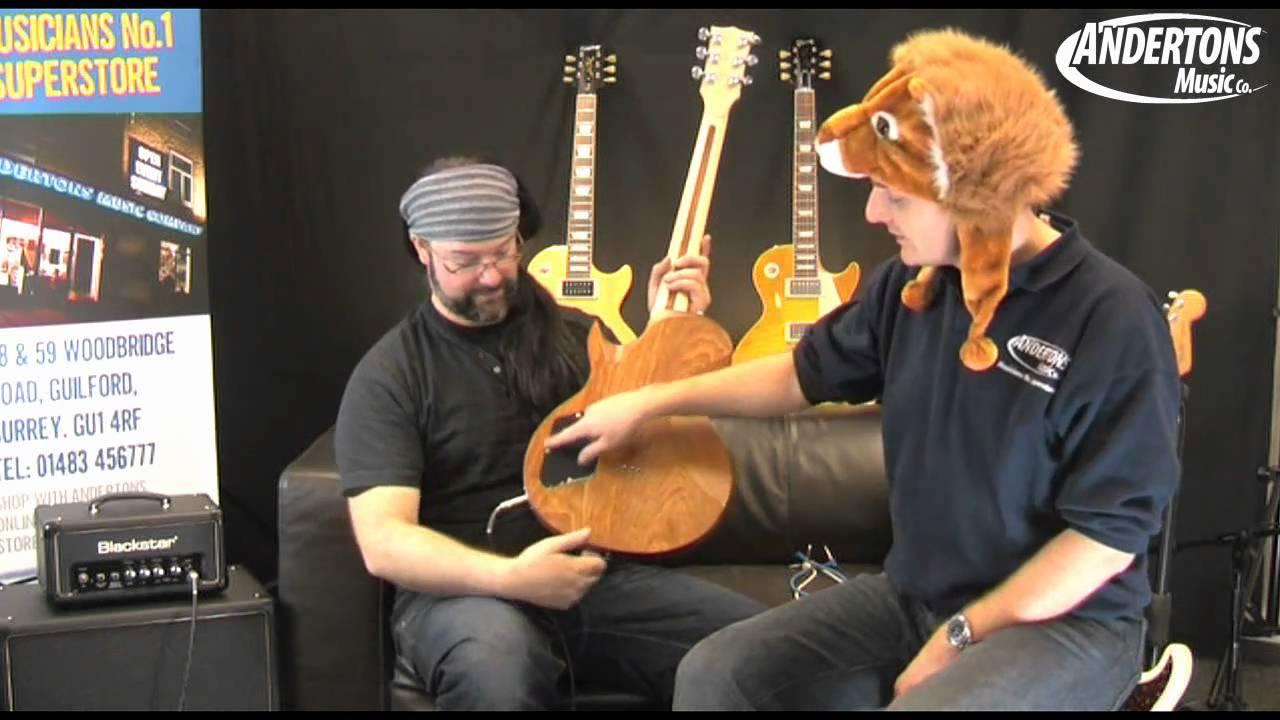 Blackstar HT408 4x8 Guitar Cab Demo at Andertons - YouTube