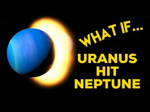 WHAT IF URANUS HIT NEPTUNE