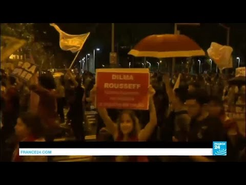 Brazil: thousands protest against Dilma Rousseff impeachment and new president Temer