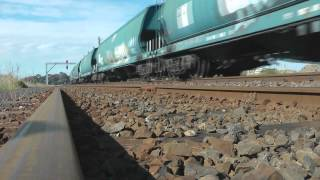 Freight trains west of melbourne