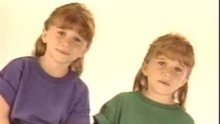 Mary-Kate and Ashley Olsen Our First Video (Part 2)