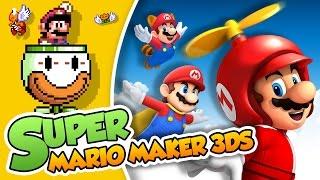 ¡Desafios por los aires!| Super Mario Maker 3DS