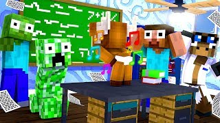 Minecraft Daycare - BABY MINECRAFT MONSTER SCHOOL! w/ MooseCraft (Minecraft Kids Roleplay)