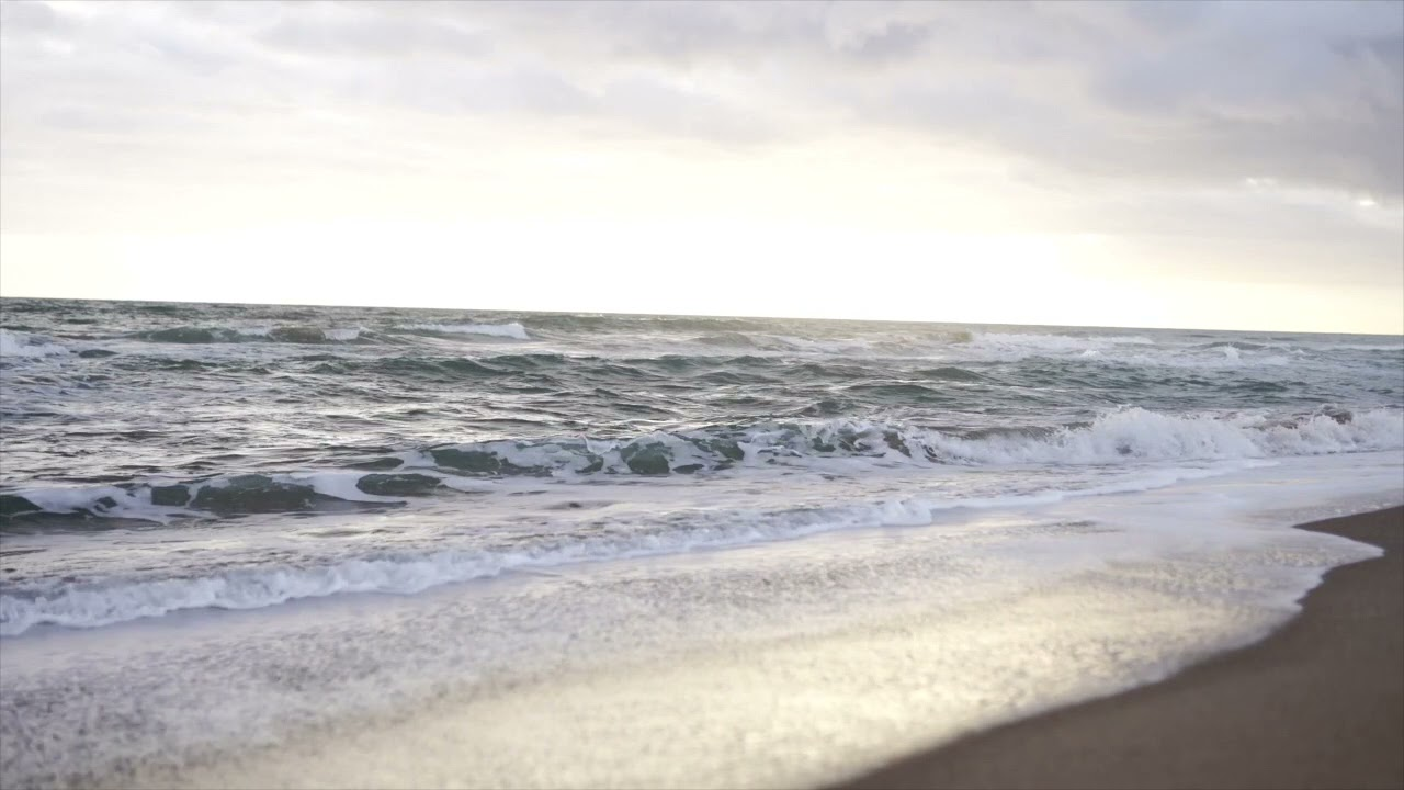 Beach waves for study and meditation!
