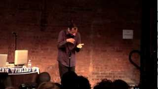 "CJ Jones at ""Signs & Rhymes"" - 4/16/12"