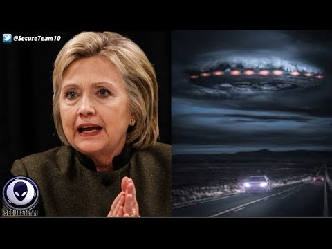 LEAKED Hillary Clinton Emails Proof Of Alien Coverup!? 10/8/16