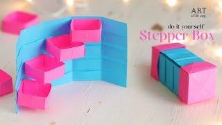 DIY Stepper Box   Paper Craft   Secret Box