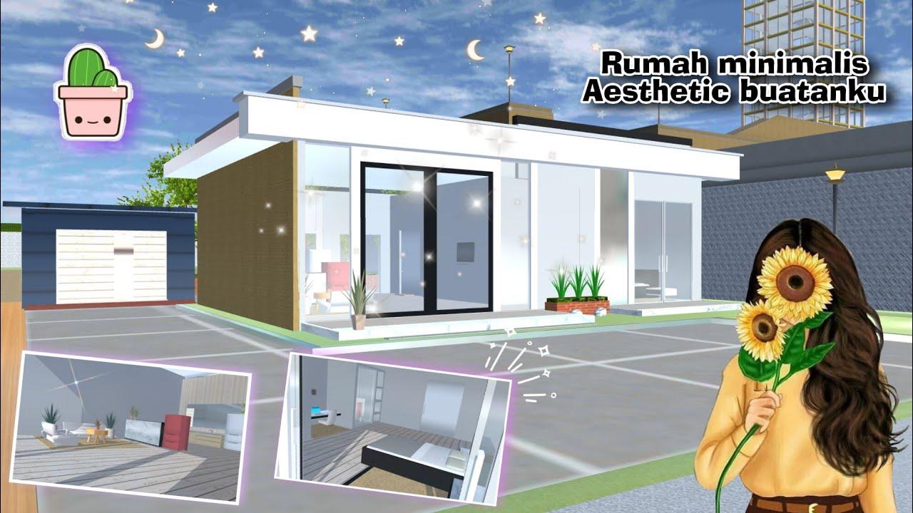 Review Rumah Minimalis Aesthetic Buatanku ✨🍪 || Build In Sakura School  Simulator - YouTube