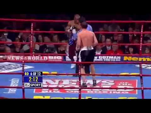 Calzaghe v Lacy (World title unification (Full) fight). Both undefeated