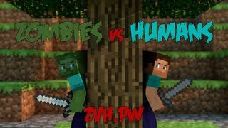 Zombies vs. Humans Minecraft Server | Trailer #1