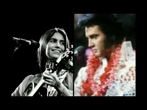 Elvis and Emmylou Harris - And I love you so. Eng/Port Lyrics