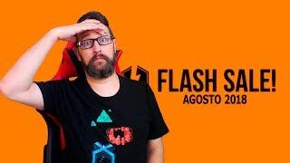 Ya llegó la FLASH SALE de Agosto 2018