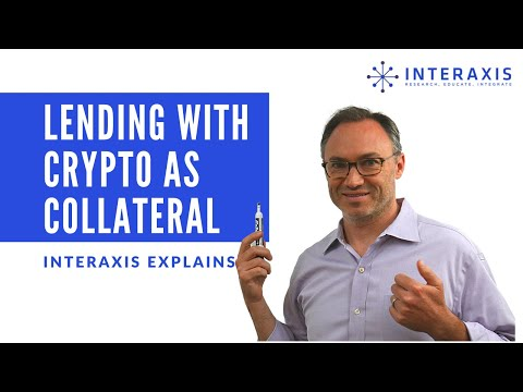 Lending with Crypto as Collateral - How Important is this Market?