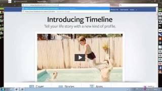 Activer Timeline - Nouveau Profil Facebook 2012