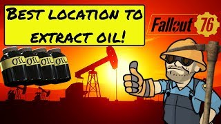 Fallout 76 Best Settlement Location To Extract Oil!