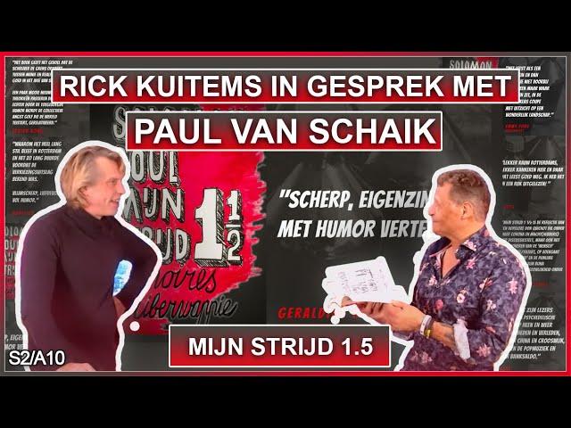Rick Kuitems in gesprek met Paul Van Schaik Ommij S2A10