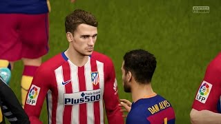 FIFA 16 | FC Barcelona vs Atlético Madrid - Full Gameplay (PS4/Xbox One)