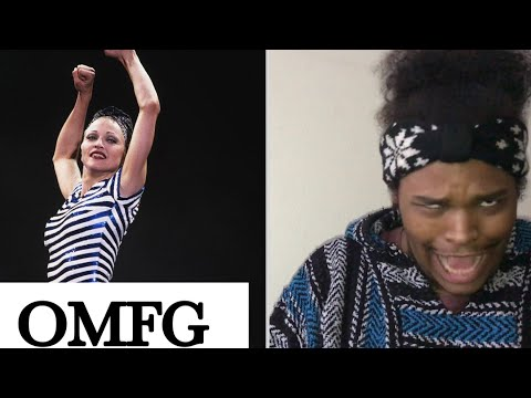 Madonna- La Isla Bonita The Girlie Show (REACTION)