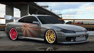 Photoshop CC - Virtual Car Tuning - Nissan Silvia S15