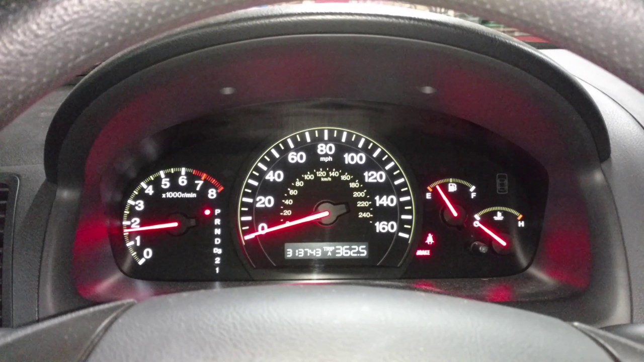 2003 Honda Accord High Mileage