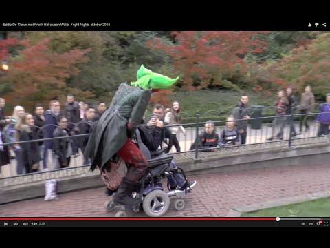 Eddie De Clown Halloween Walibi Fright Nights oktober 2015 met Frank.