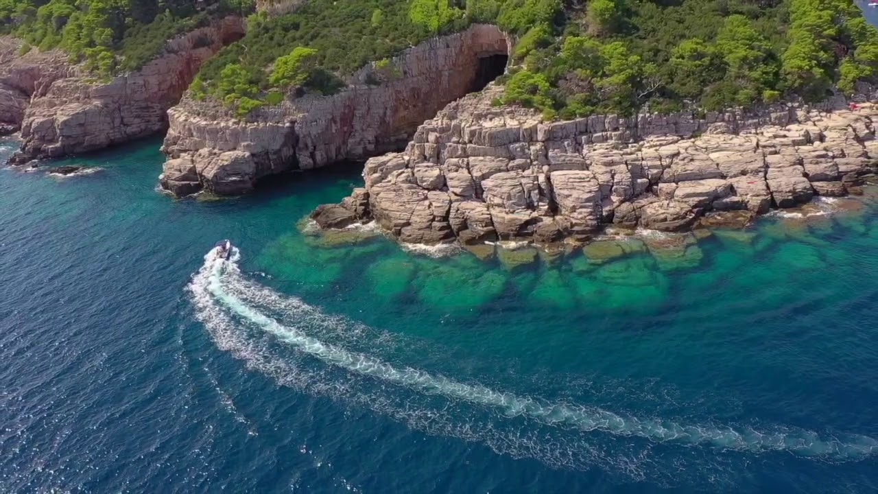 Lokrum Island Croatia (Dubrovnik) DJI MAVIC PRO 2