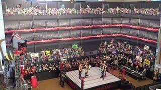 WWE Figure Arena CROWD Pop Up