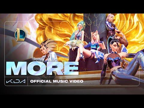 K/DA – MORE ft. Madison Beer, (G)I-DLE, Lexie Liu, Jaira Burns, Seraphine