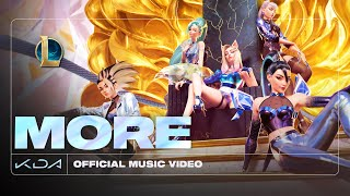 K/DA - MORE ft. Madison Beer, (G)I-DLE, Lexie Liu, Jaira Burns, Seraphine - Official Music Video
