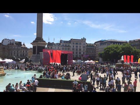 Eid 2017 Festival Live from London Trafalgar Square