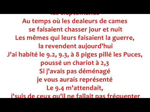 Rohff - Repris de justesse Paroles