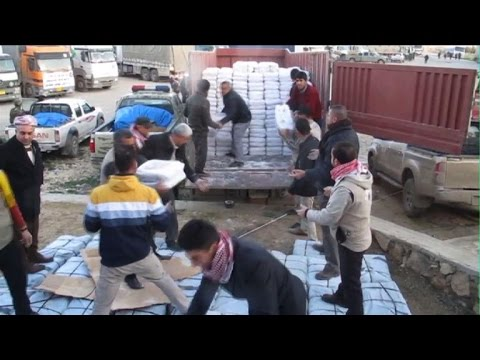 Iraq Kurds deliver aid to Mt Sinjar, expand operation