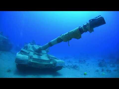 Underwater military museum