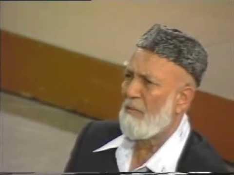 SHEIKH AHMED DEEDAT - CRUCIFIXION or CRUCI-FICTION
