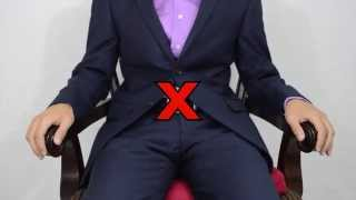 Common Mistakes When Wearing A Suit