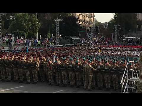 Репетиція параду до Дня Незалежності на Хрещатику