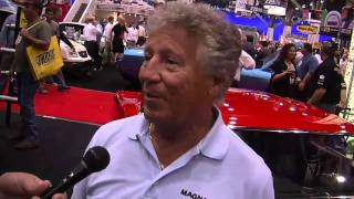 2010 SEMA V8TV Video Coverage: Mario Andretti Interview in MagnaFlow Booth