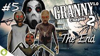 MATA GRANNY BISA BERUBAH JADI MERAH!! Granny Chapter 2 Part 5 END ~Ternyata Granpa Bisa Joget!! wkwk
