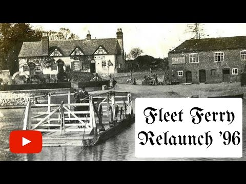 Fleet Inn Twyning - Ferry Relaunch 1996