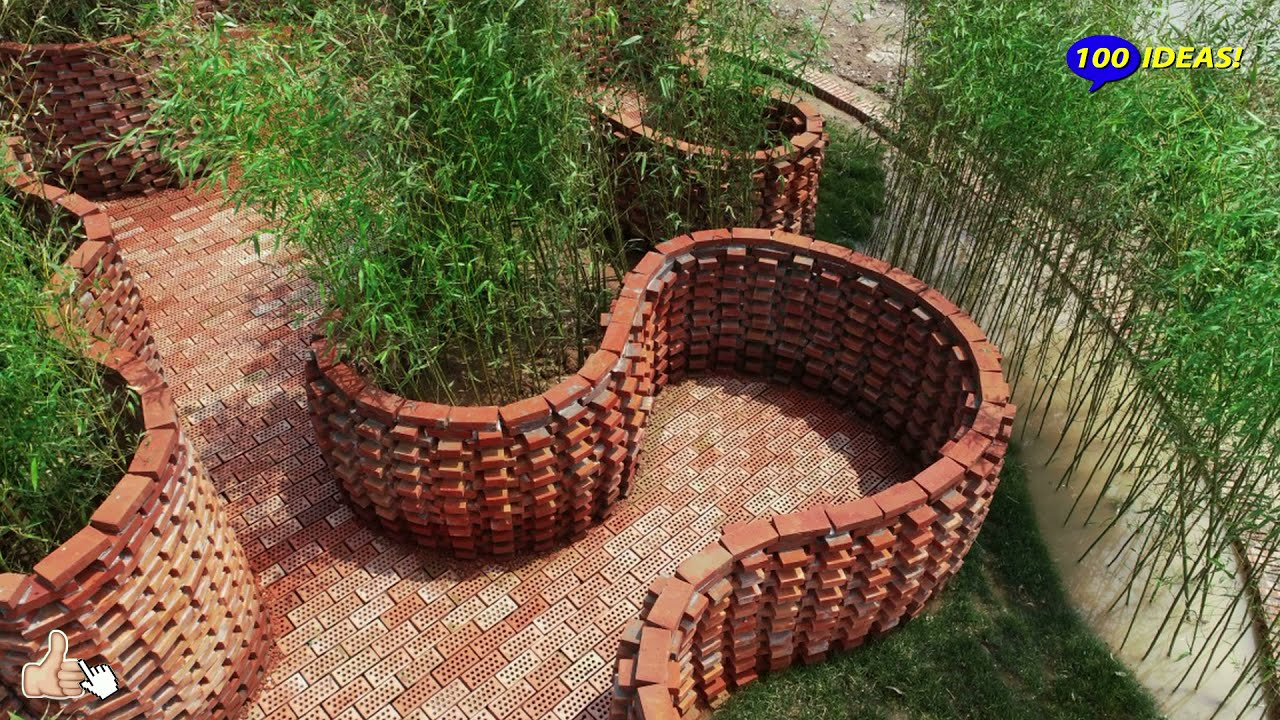 Beautiful fences with brick elements! 40 examples for inspiration!