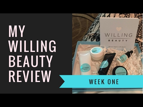 My First Week Using Willing Beauty