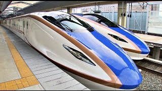 Hokuriku E7 Shinkansen - Special ᴴᴰ ● 北陸新幹線 thumbnail