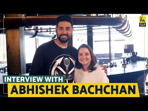 Interview with Abhishek Bachchan | Anupama Chopra | Manmarziyaan| Film Companion