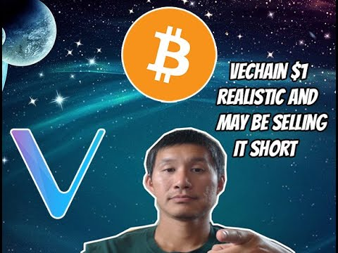 Download Vechain(VET) to $1 may be not bullish enough is Bitcoin hits $100k EOY. Here's why.