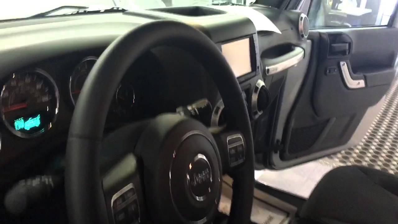 2015 Jeep Rubicon Interior