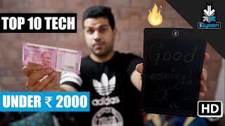 Top 10 Tech Under Rs. 2000   Budget Shopping List