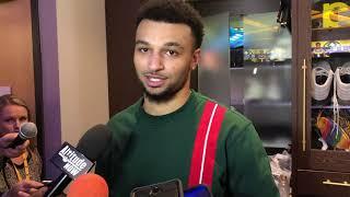Jamal Murray Postgame: Boston Celtics at Denver Nuggets [November 2018]