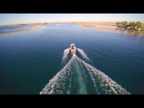 DRONE OVER LAKE SAINT CLAIR