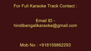 Mujhe Tum Nazar Se - Karaoke - Anuradha Paudwal - Deewangi (1992)